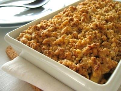 アップルクランブルの作り方!りんごのデザートレシピ