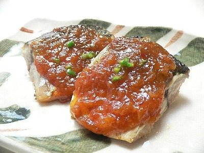 ピリ辛練り味噌を作り置き【サバみそ焼き】