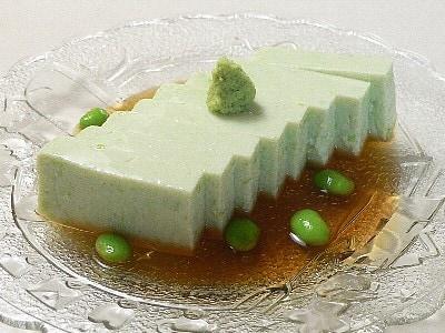 真夏のおもてなし料理えだまめ豆腐
