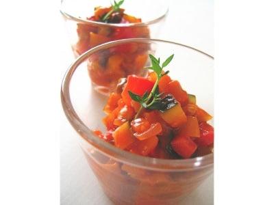15分レシピ 洋風常備菜ラタトゥイユ