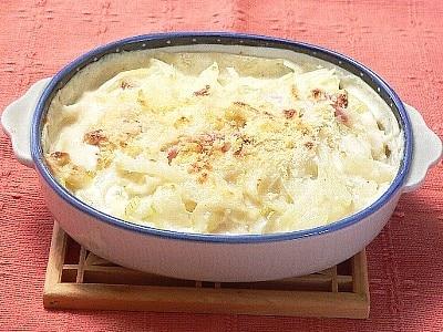 一人暮らしレシピ お手軽ポテトグラタン