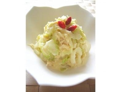 10分レシピ セロリとホタテのマヨサラダ