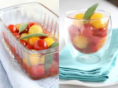 酢2:はちみつ1で作る! 簡単トマトのハニーマリネレシピ