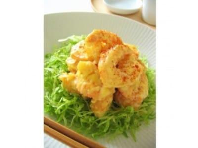 エビマヨを卵白衣で!美味しい海老料理のレシピ