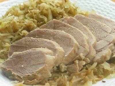 豚もも肉のアイスバイン風レシピ