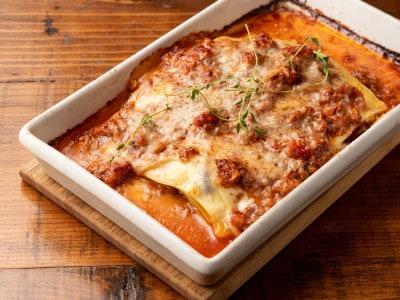 ラザニアの基本レシピ・焼き時間……冷凍して保存もできる!