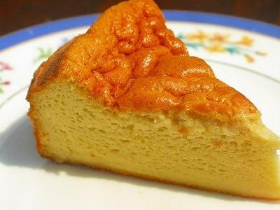 簡単!スフレチーズケーキの作り方