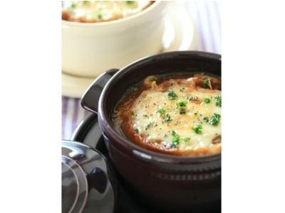 簡単時短レシピ! オニオングラタンスープ