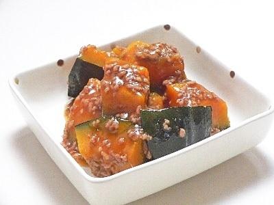 かぼちゃのひき肉煮