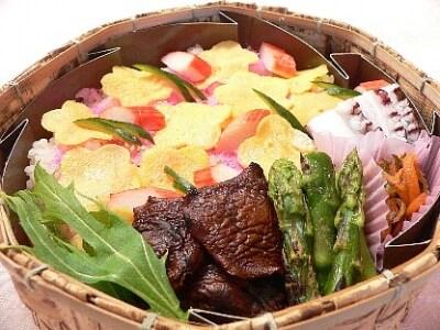 花ちらし寿司弁当