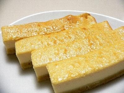 チーズケーキバーのレシピ