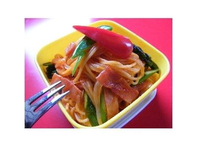 パスタのお弁当 【ナポリタン】