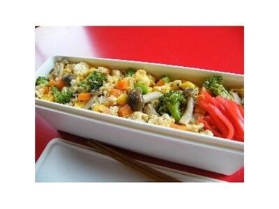 炒り豆腐弁当のレシピ……人気の高い甘辛味噌味!