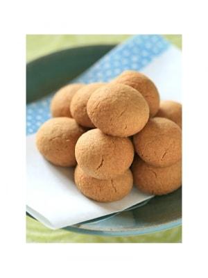 材料4つで簡単! きなこボールクッキー