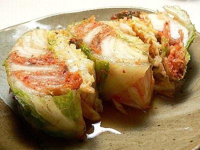休日には、そうだ!白菜キムチを漬けよう!