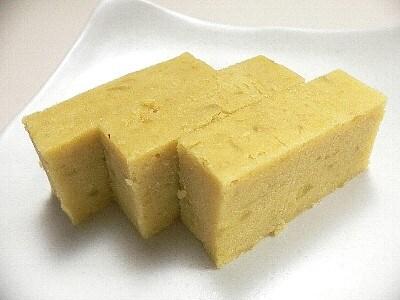 【簡単和菓子】型押し芋きんとん
