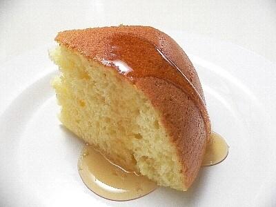 ホットケーキミックスでヨーグルトケーキ