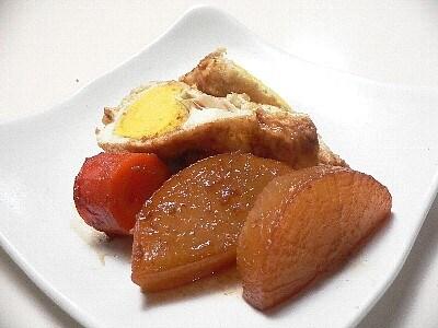 お釜で伏見卵と大根の炊き合わせ