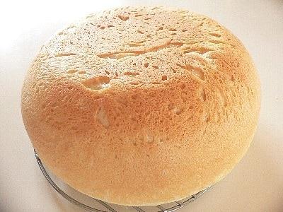 連休はお家でパンつくろ!お釜で大福パン