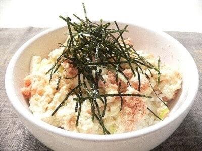 明太子で激旨丼! めんたい豆腐どんぶりは2分で完成