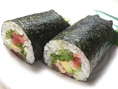 【節分まるかぶり寿司】サラダ恵方巻き