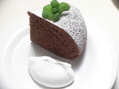 サラダ油で作る、チョコレートケーキ