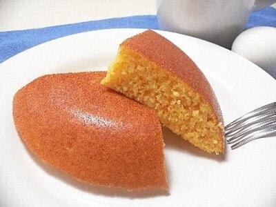 炊飯器で作る米粉にんじんケーキ……小麦粉を使わない!