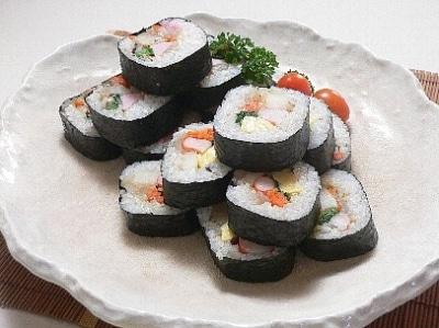 韓国風海苔巻き(キンパ)のレシピ