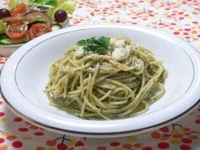 バジルソースのスパゲッティの作り方!美味しいパスタレシピ