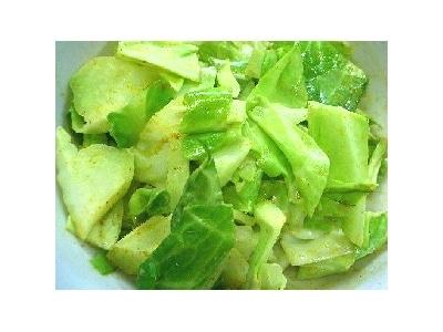 キャベツのマヨカレーサラダ