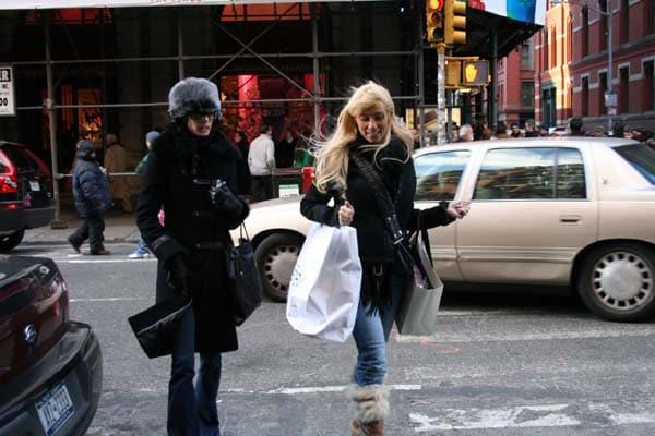 コートはニューヨーカーのライフライン(生命線)