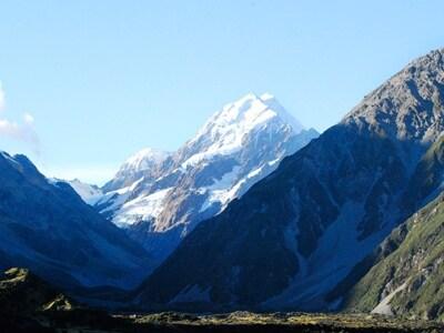 ニュージーランド最高峰のマウントクック