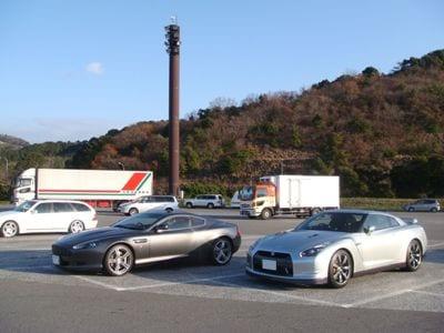 DB9&GT-R