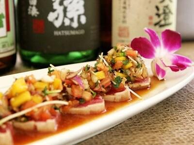 巻き寿司や天ぷらなどをアレンジした斬新な創作和食。ぜひ、一度お試しを(画像:ロイヤル・ハワイアン・センター「道楽寿司」)