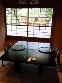 2~4名用の小部屋。