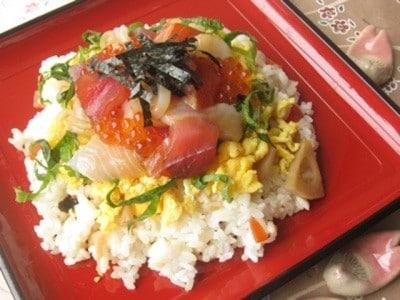 ひな祭りのお祝いに……海鮮ちらし寿司レシピ