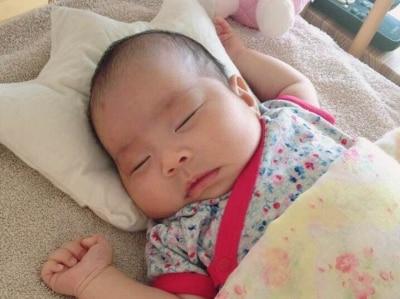 生後2ヶ月の赤ちゃんは体重が約2倍に