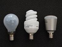 口金E17の電球