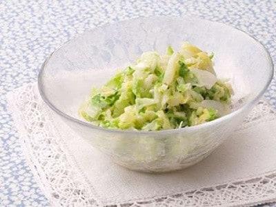 コールスローサラダのレシピ!キャベツだけで作るヘルシー料理