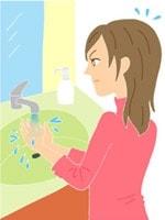 水洗いなどの家事では要注意。手洗いのしすぎも避けましょう
