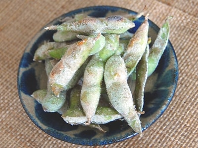 夏野菜おつまみ 焼き枝豆