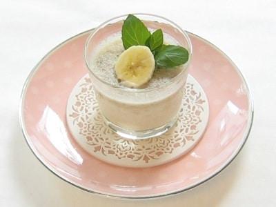 ふんわり優しい低カロリーのバナナミルクプリン