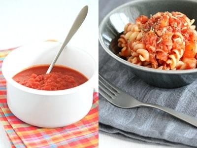 簡単レシピ レンジ・トマトソース