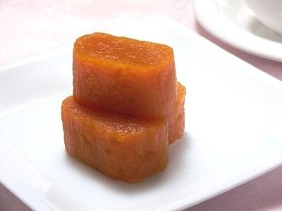 レンジで簡単!かぼちゃ餅