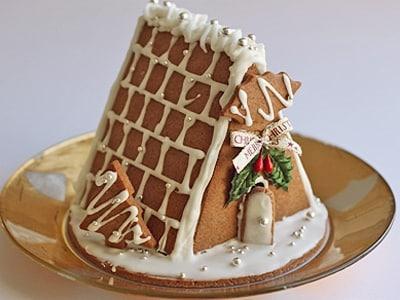クリスマスに飾るお菓子の家、へクセンハウスの作り方