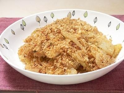 フライパンで簡単に作る、カリカリポテト