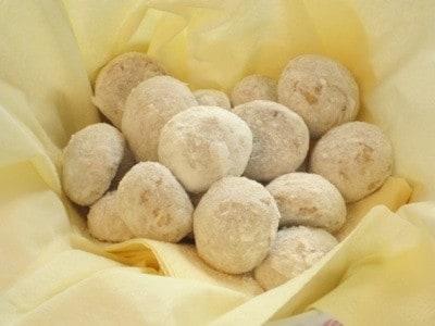 白いクッキー、ブール・ド・ネージの簡単ヘルシーな作り方