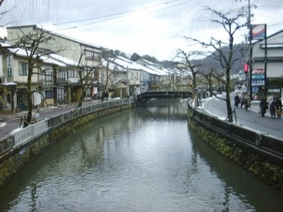 城崎温泉の温泉街(1)