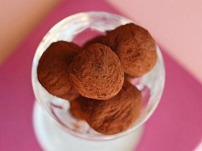 板チョコで!チョコレートトリュフのレシピ・作り方