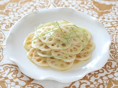 簡単美味!れんこんナムルの作り方